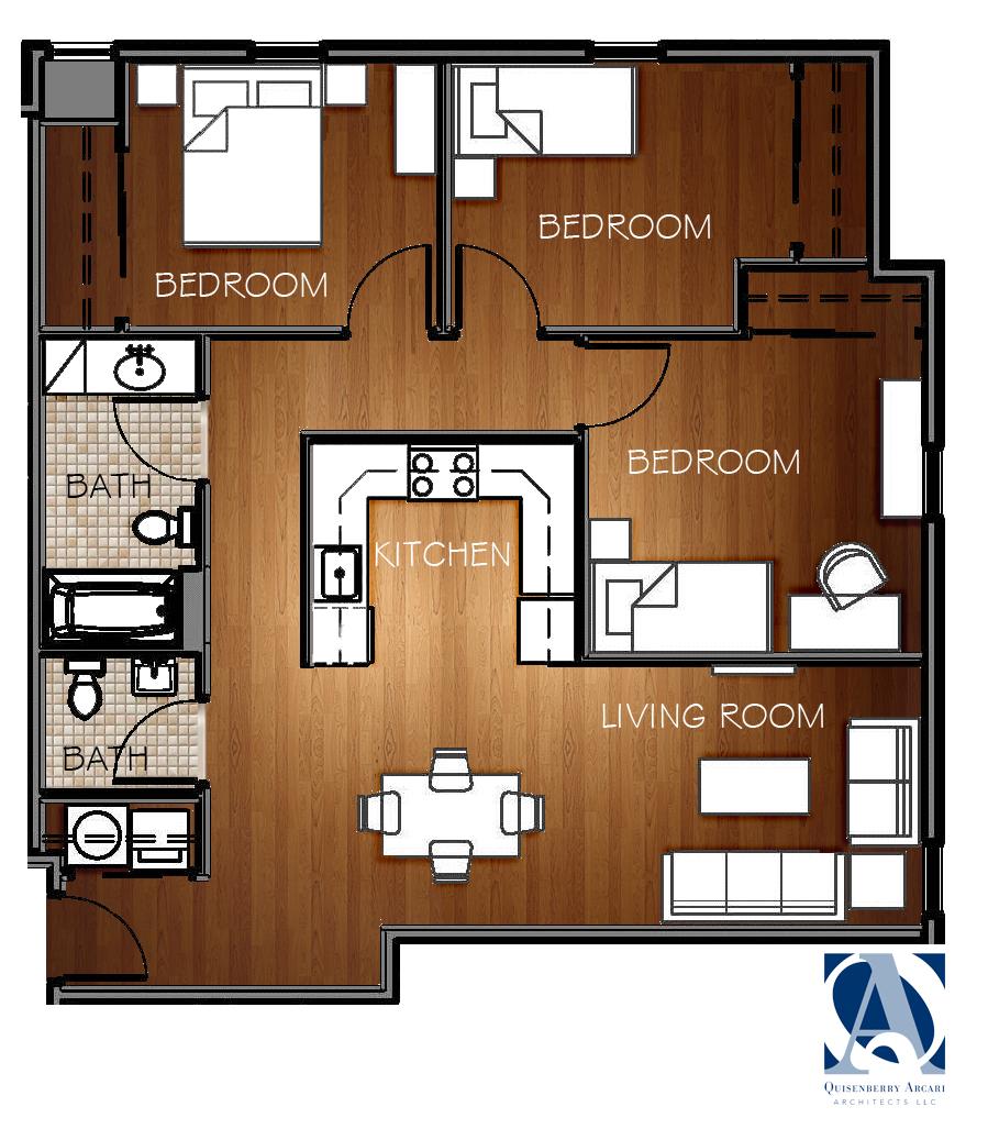 Apartment Floor Plans The Goodwin West Hartford
